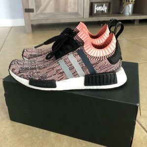 Women's adidas prime knit NMD r1 sunglow